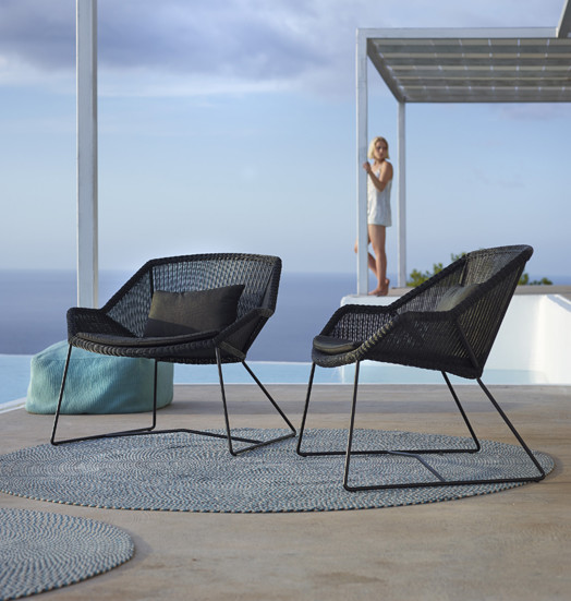 cane line breeze lounge chair contemporary deck. Black Bedroom Furniture Sets. Home Design Ideas