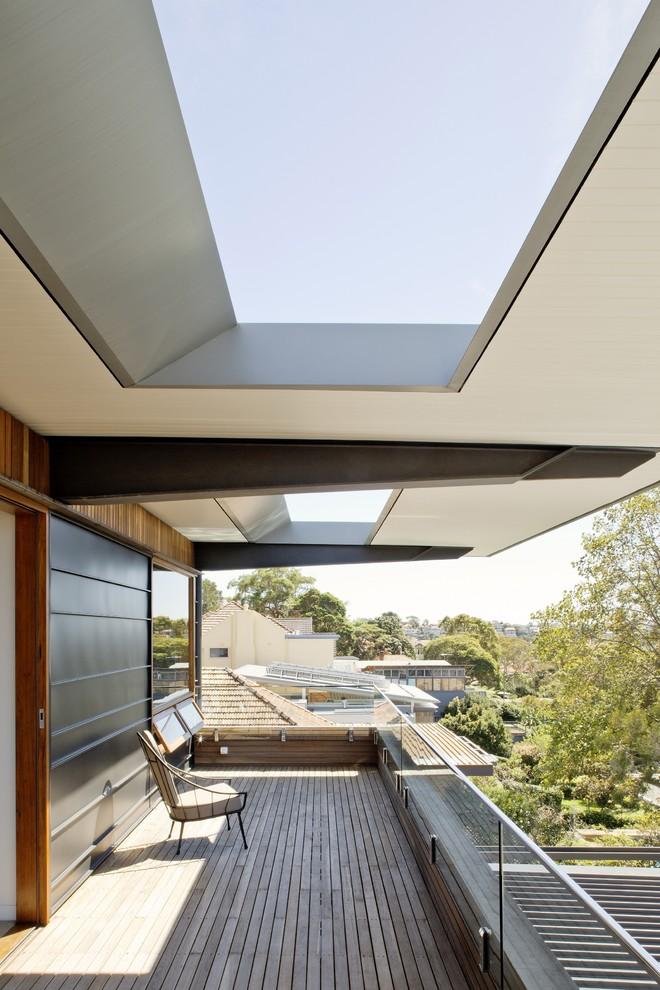 阳台白色细节现代风格装潢效果图