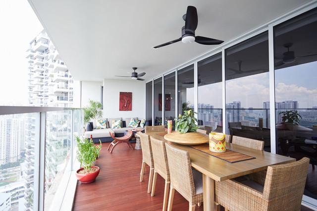Resale Condominium (Sky Eleven @ Thomson) asian-balcony