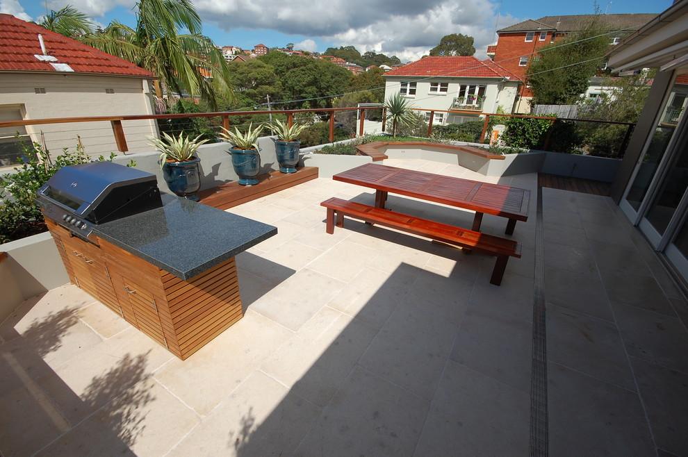 Rooftop Garden Design - Contemporary - Balcony - Sydney ...