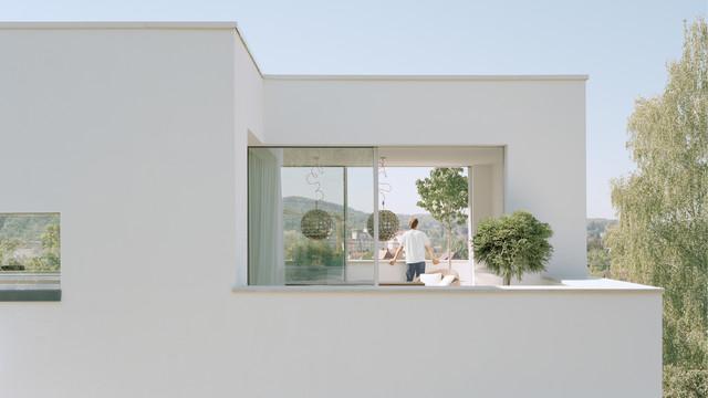 Em 35 cityvilla   modern   balkon   stuttgart   von steimle ...