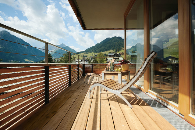 ifen hotel kleinwalsertal modern terrasse other. Black Bedroom Furniture Sets. Home Design Ideas
