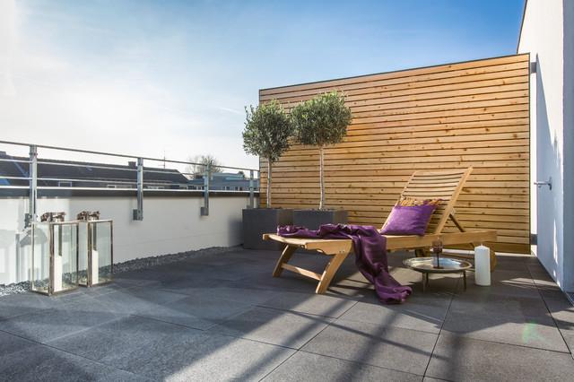 Musterhaus ronne g rten contemporary balcony cologne for Gartengestaltung 30qm
