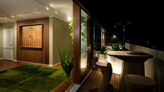 Penthouse berlin prenzlauer berg modern balkon berlin von