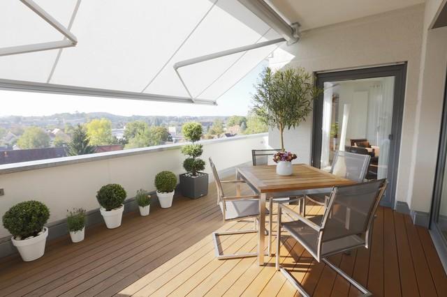 Privathaus ellwangen modern balkon stuttgart von