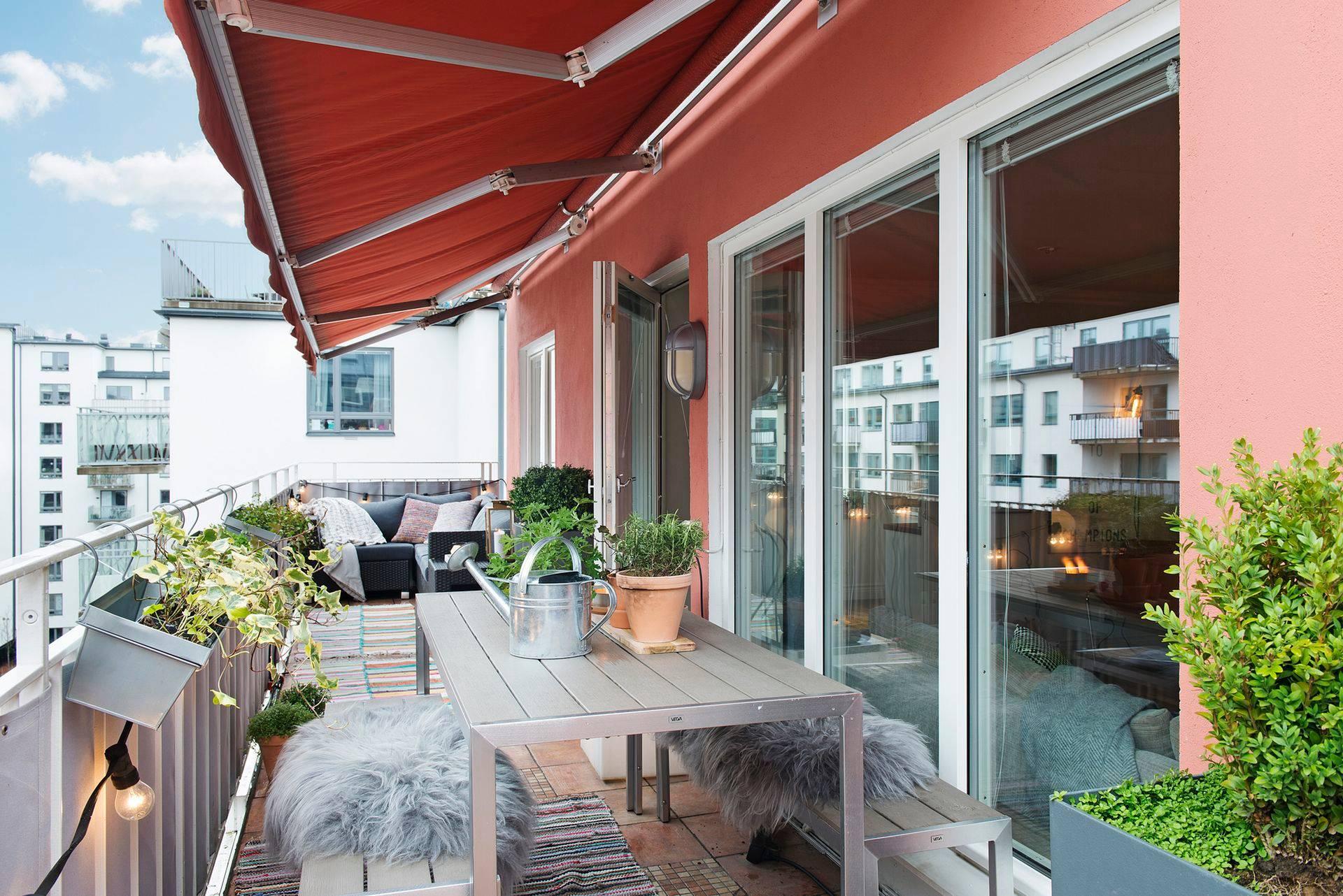 Sonnenschutz Balkone mit diesen Ideen verschatten