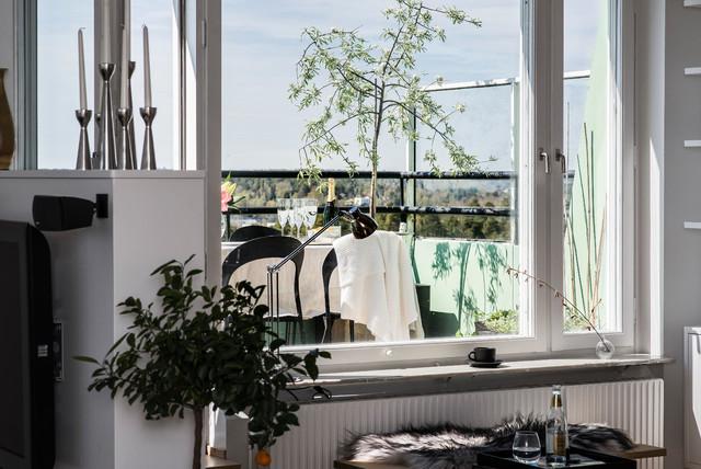 Eskadervägen skandinavisk-balkong