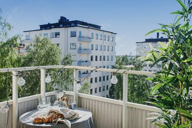 Idéer för att renovera en nordisk balkong