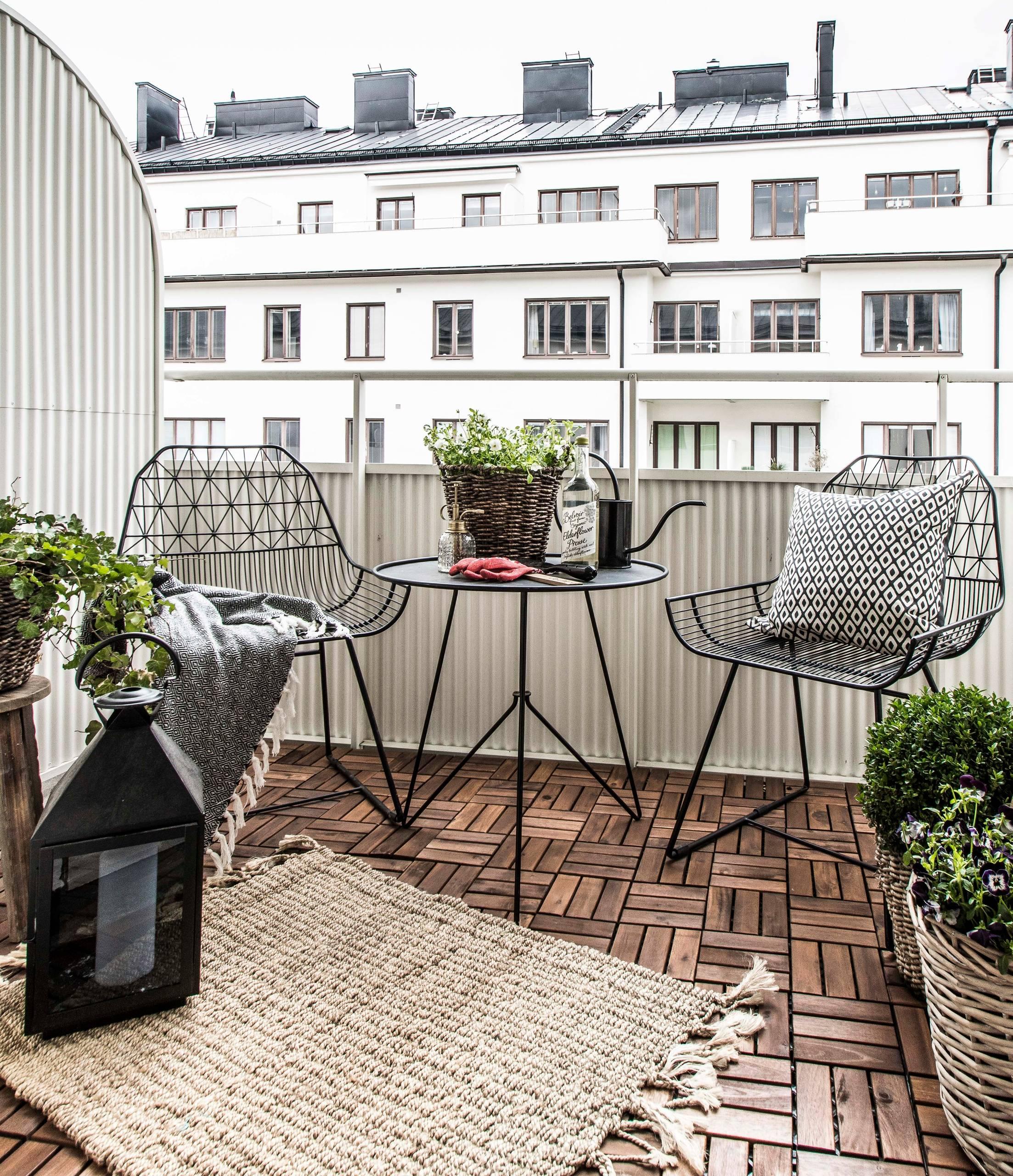 12+ Balkon gestalten Tipps & gelungene Ideen für Balkonien Fotos
