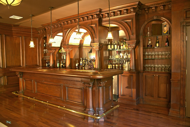 Classic Home Bar Design