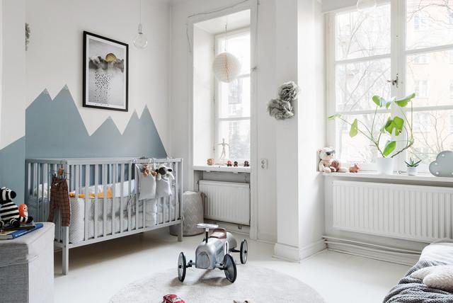 Idéer för att renovera ett nordiskt barnrum