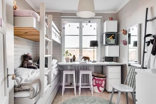 Kleine Kinderzimmer einrichten: Tipps für Stauraum und ...