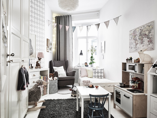 kleine kinderzimmer einrichten tipps f r stauraum und. Black Bedroom Furniture Sets. Home Design Ideas