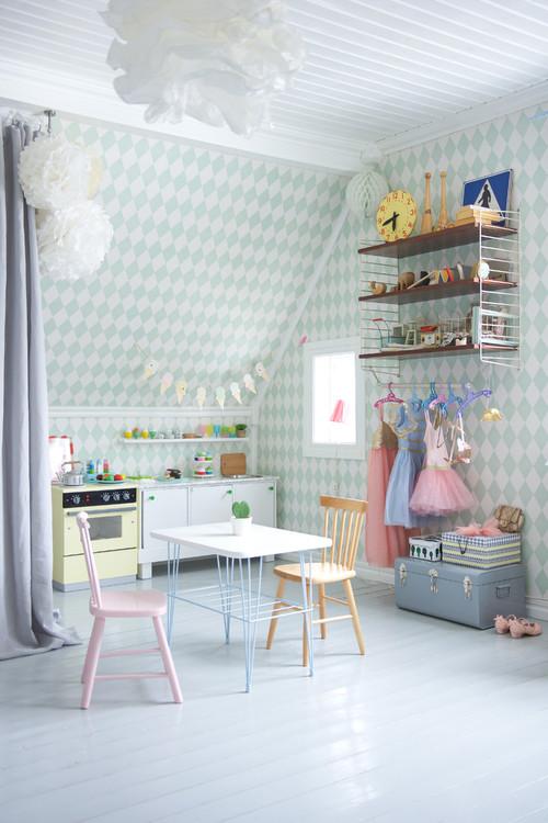 Tapete Kinderzimmer - wie sie deinem Kinderzimmer das ...