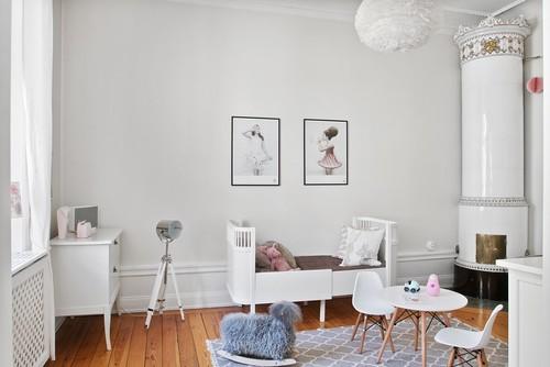 Große Wirkung, Ohne Das Gesamte Zimmer Zu Streichen: Mit Einfachen Mitteln  Wie Diesen Blauen Dreiecken Lässt Sich An Kinderzimmerwänden Spannung  Erzeugen.