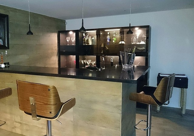 Salle de jeux - Contemporary - Home Bar - Angers - by sonia home deco