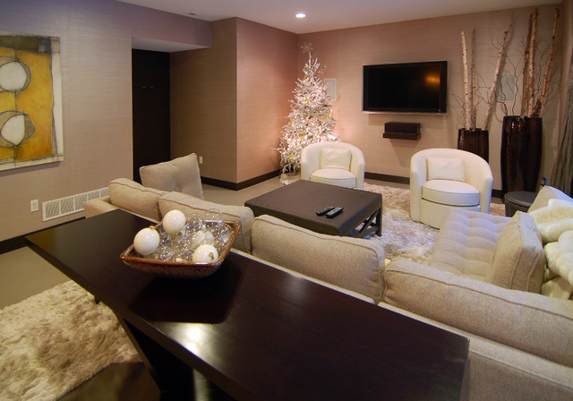 2010 Tour of Remodeled Homes modern-basement
