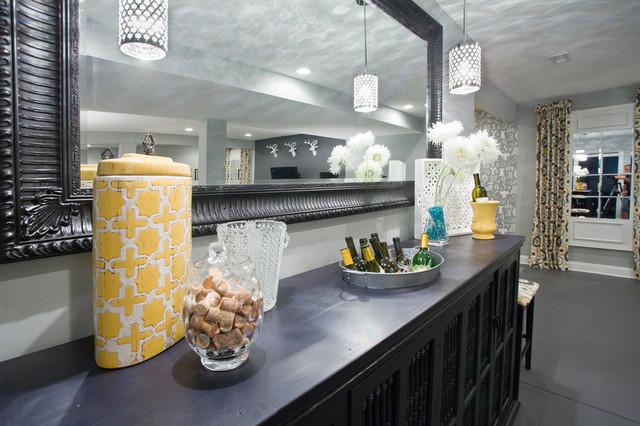 2013 Dream House Basement contemporary-basement
