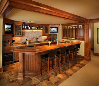 A Collaborative Design Group Traditional Basement Calgary By A Collaborative Design Group