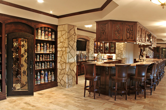 A Home with Heritage traditional-basement