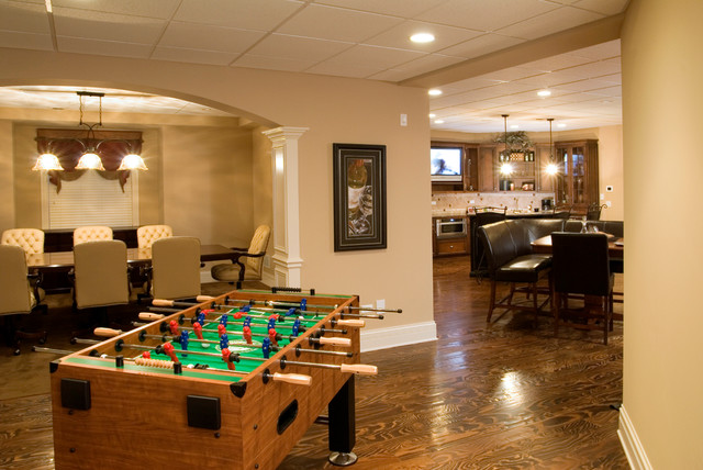Aberdeen Traditional Basement Chicago By King S