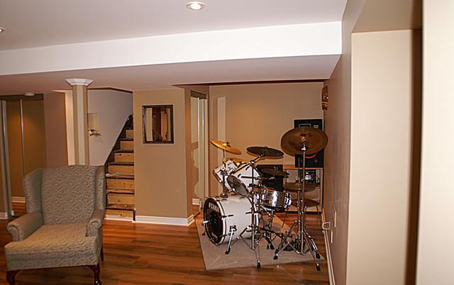Additions & Renovations traditional-basement