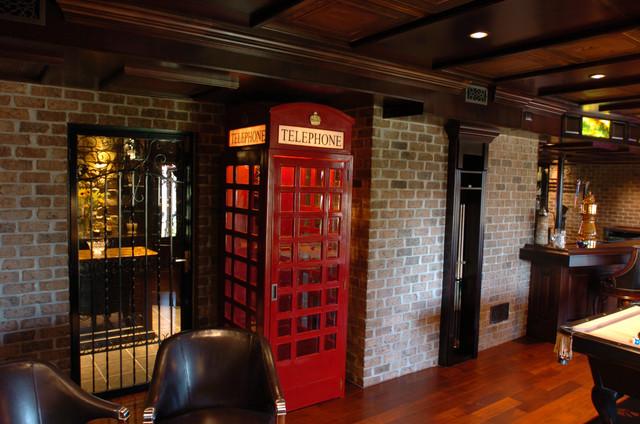 New York City Restaurant Phone Booth Entry