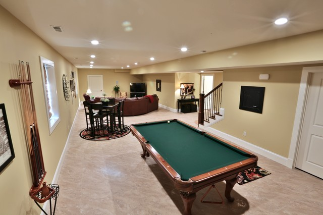 Anderson traditional-basement
