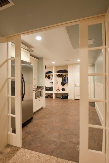 Andover, MA traditional-basement