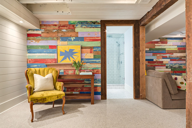 10 Fresh Designs For A Reclaimed Wood Wall