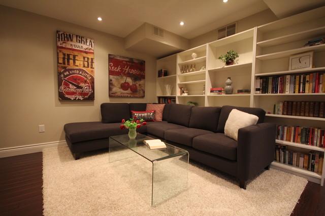 Apple Blossom Thornhill contemporary-basement