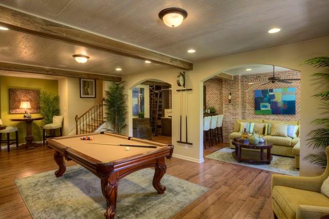 Ashton Woods Atlanta Basements traditional-basement
