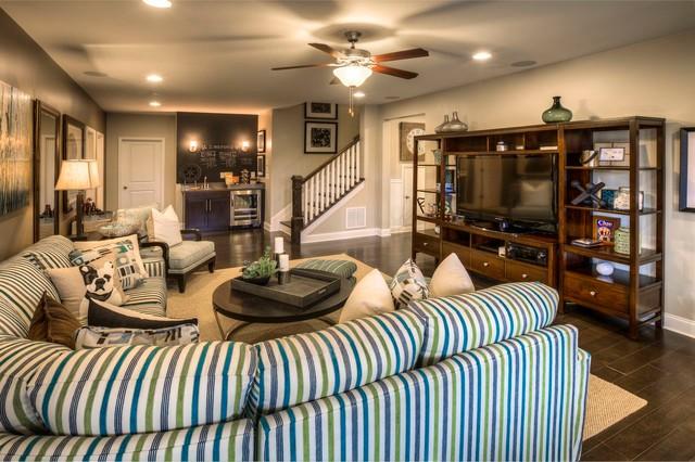 Ashton Woods Atlanta Basements Traditional Basement Atlanta By Ashton Woods