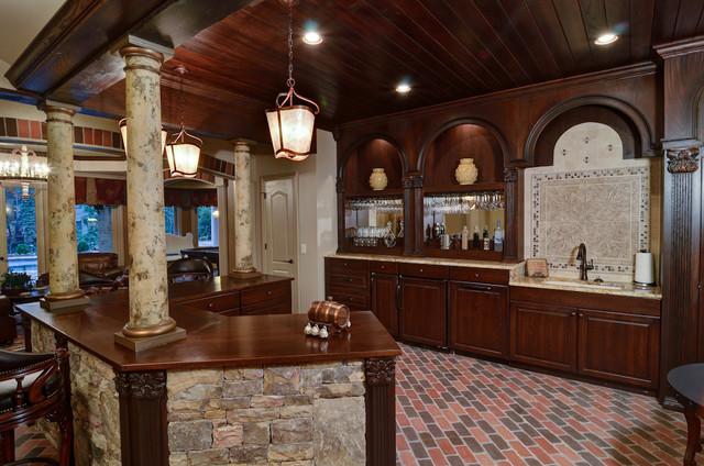 Atlanta Basement Design/Build traditional-basement