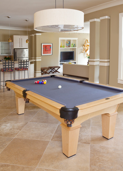 Do You Have Any Details On The Pool Table? Wood, Finish, Felt, Etc
