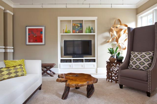 Atlanta Residence-Basement transitional-basement
