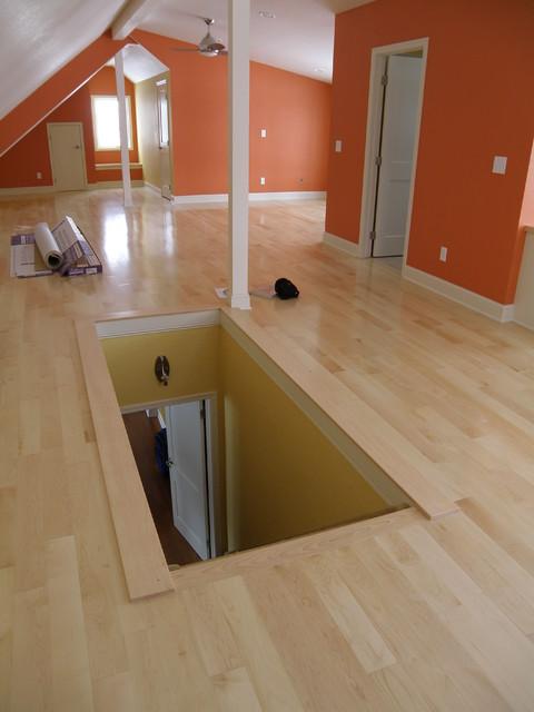 attic transitional basement