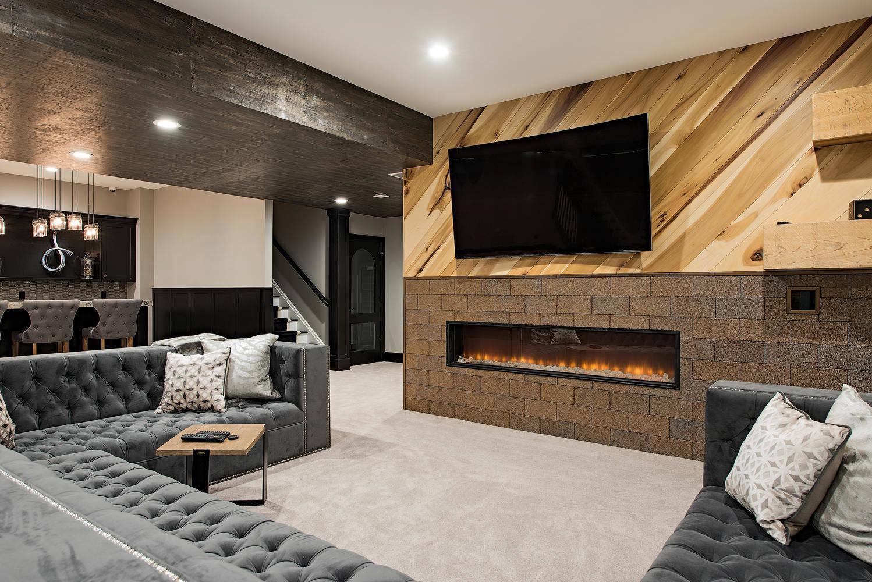 Odd Shaped Rooms Basement Ideas Photos Houzz
