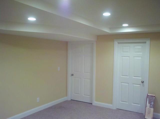 Ballard Project traditional-basement
