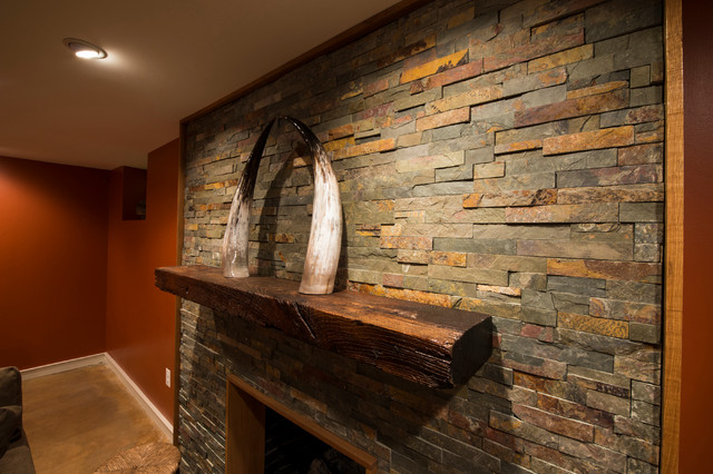 Baltimore Basement Renovation Rustic Basement Baltimore By Sarah J Reed