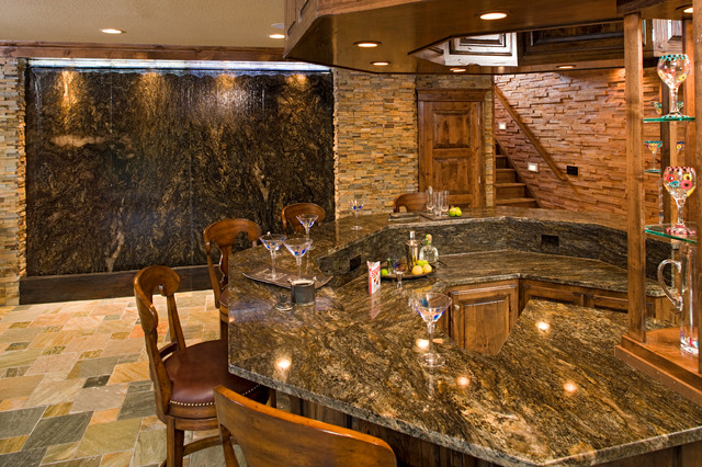 bars traditional basement other by stone countertop outlet granite tops. Black Bedroom Furniture Sets. Home Design Ideas
