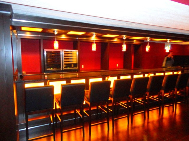 basement bar lighting ideas modern basement