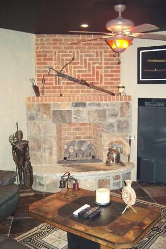 Basement, Bathroom and Kitchen Renovations traditional-living-room