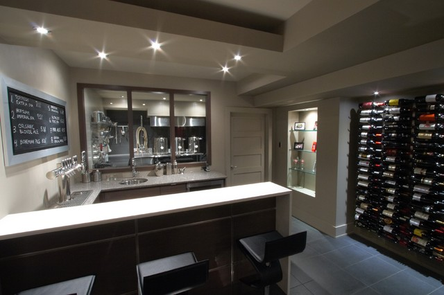 Ordinaire Room Of The Day: Cheers To A Home Basement Brewery For Craft Beers