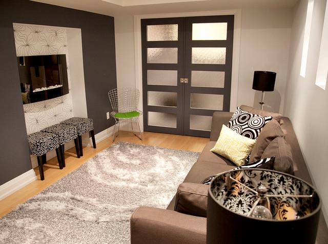 Basement Design Contemporary Basement Toronto By