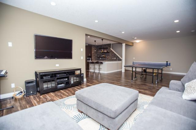 basement development se calgary traditional basement
