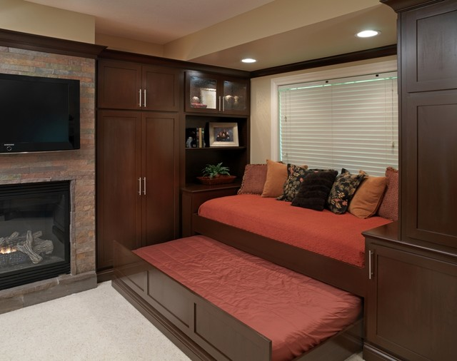 Basement Entertaining Modern Basement Columbus By