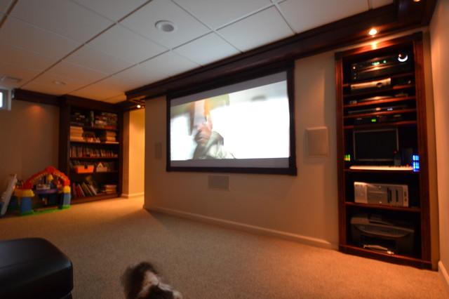 Basement Family Room Tv Room
