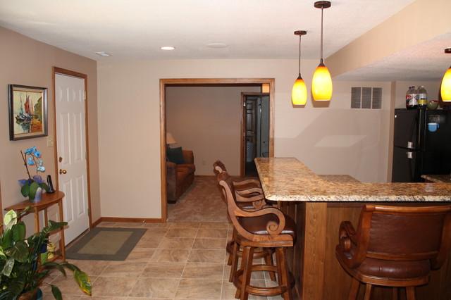 Basement Finish traditional-basement
