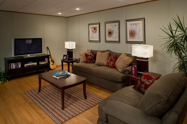 Basement finishing dennis ma modern basement boston for Modern finished basements